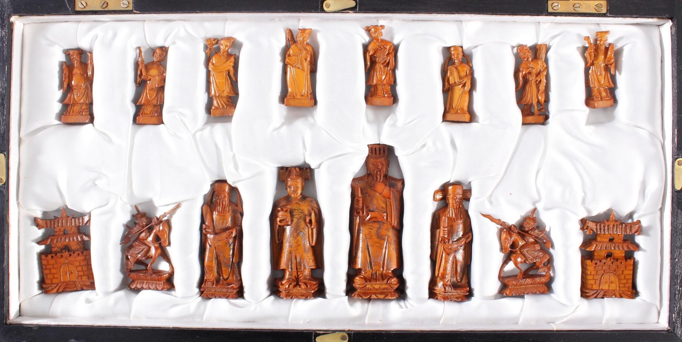 Schachspiel, China, 20. Jahrhundert-3