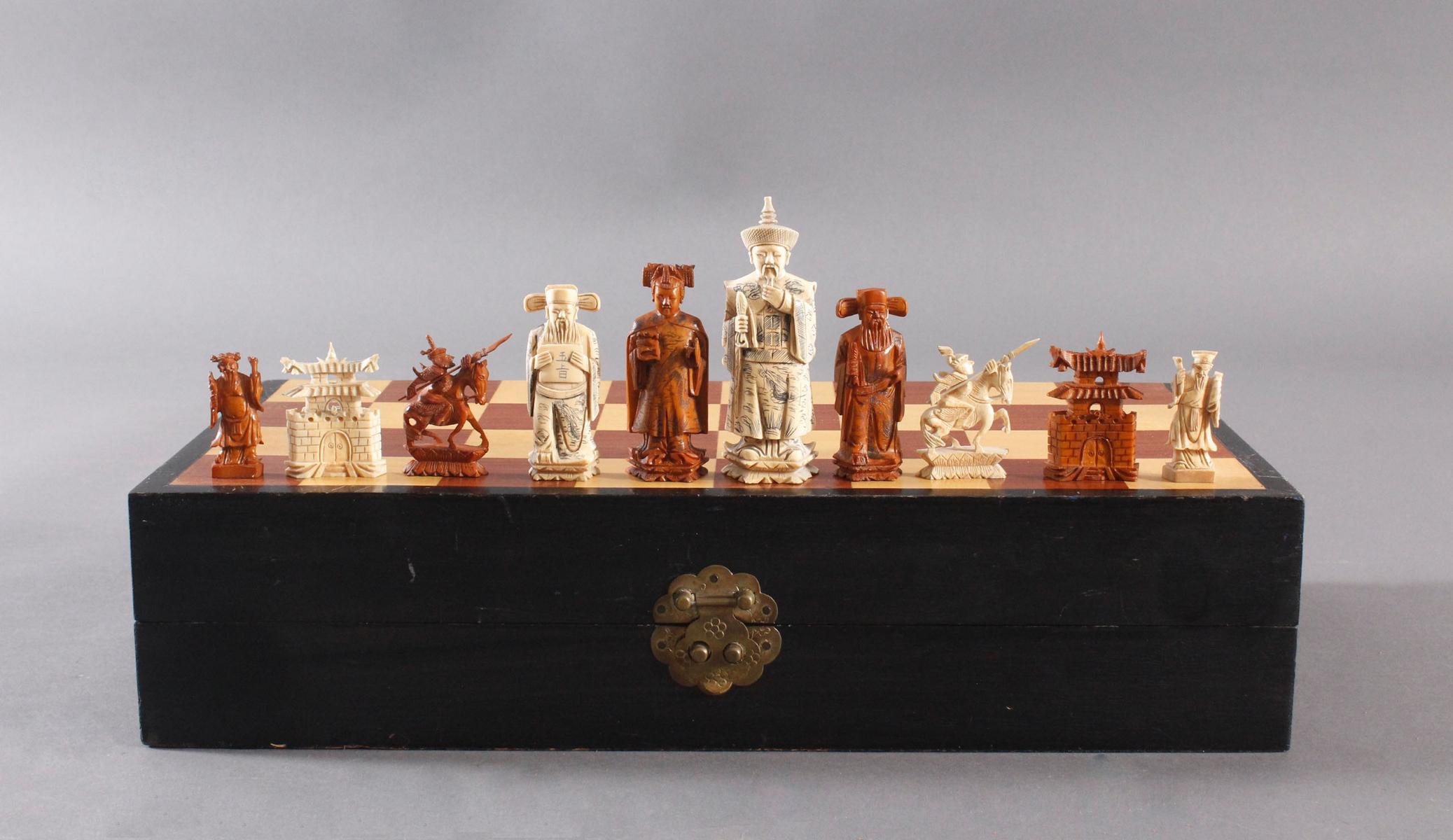 Schachspiel, China, 20. Jahrhundert-4