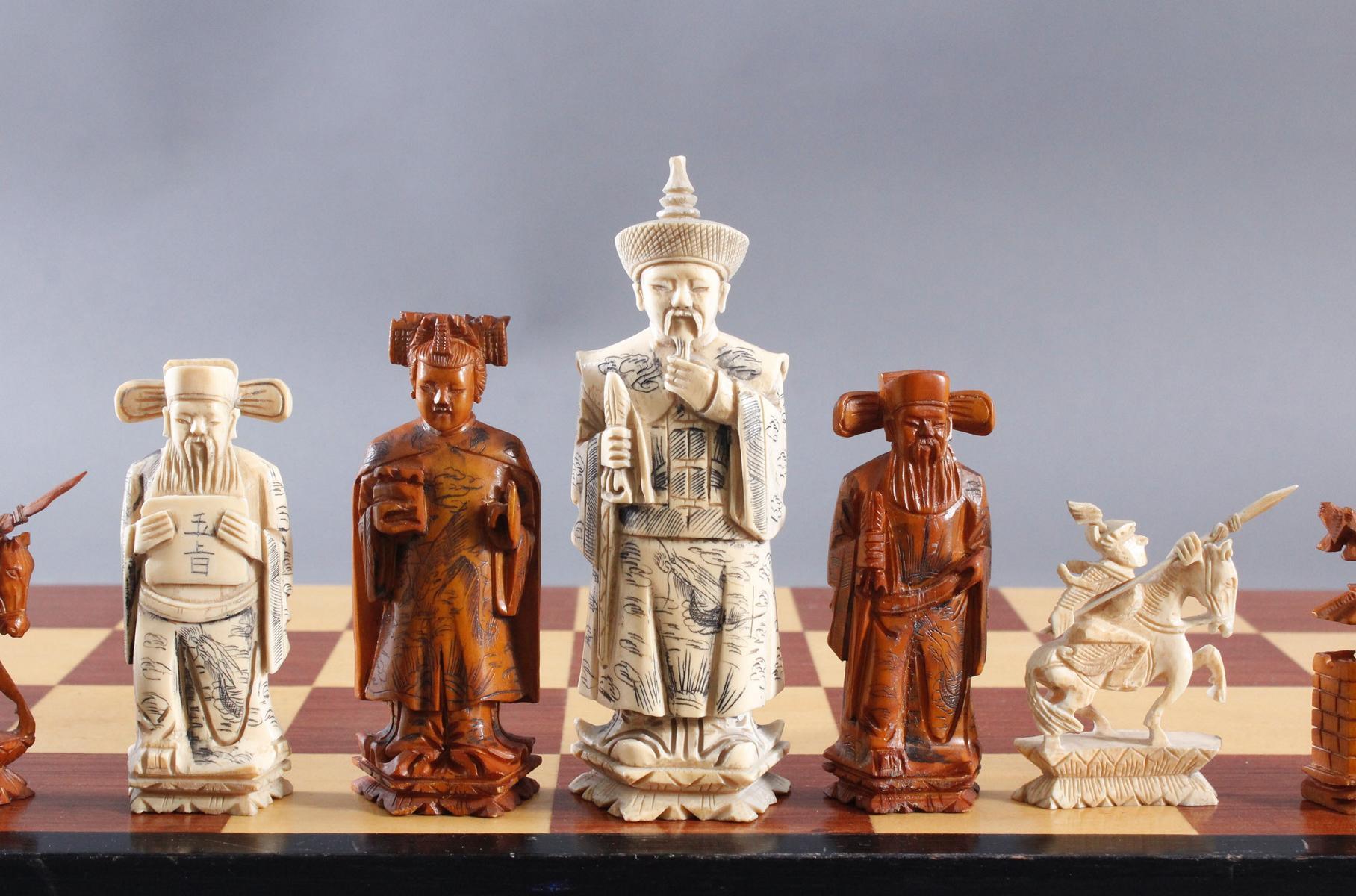 Schachspiel, China, 20. Jahrhundert-5
