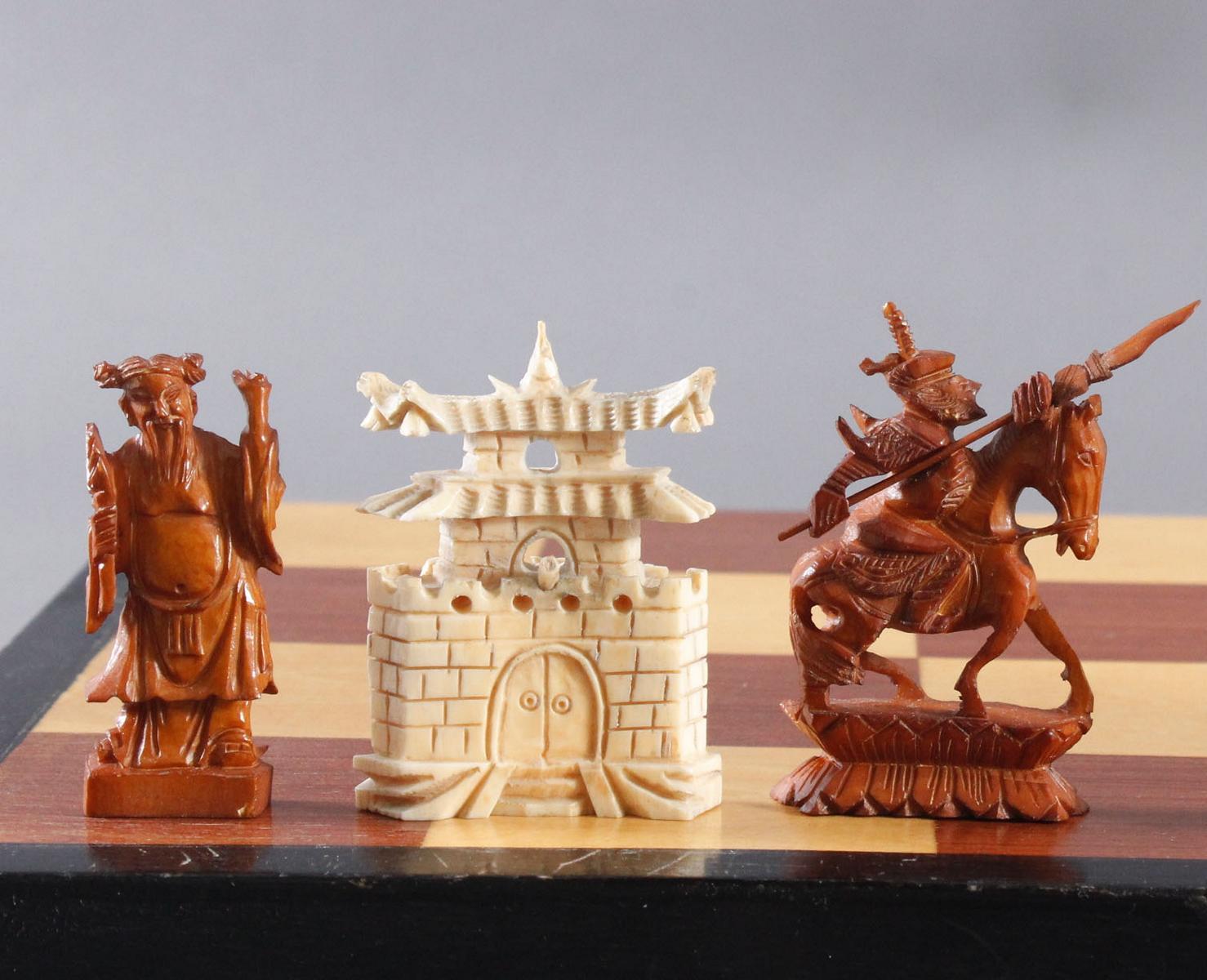 Schachspiel, China, 20. Jahrhundert-6