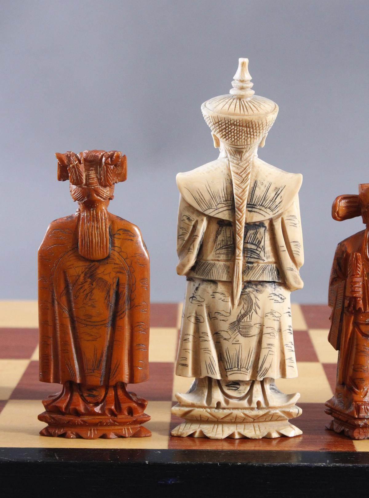 Schachspiel, China, 20. Jahrhundert-8