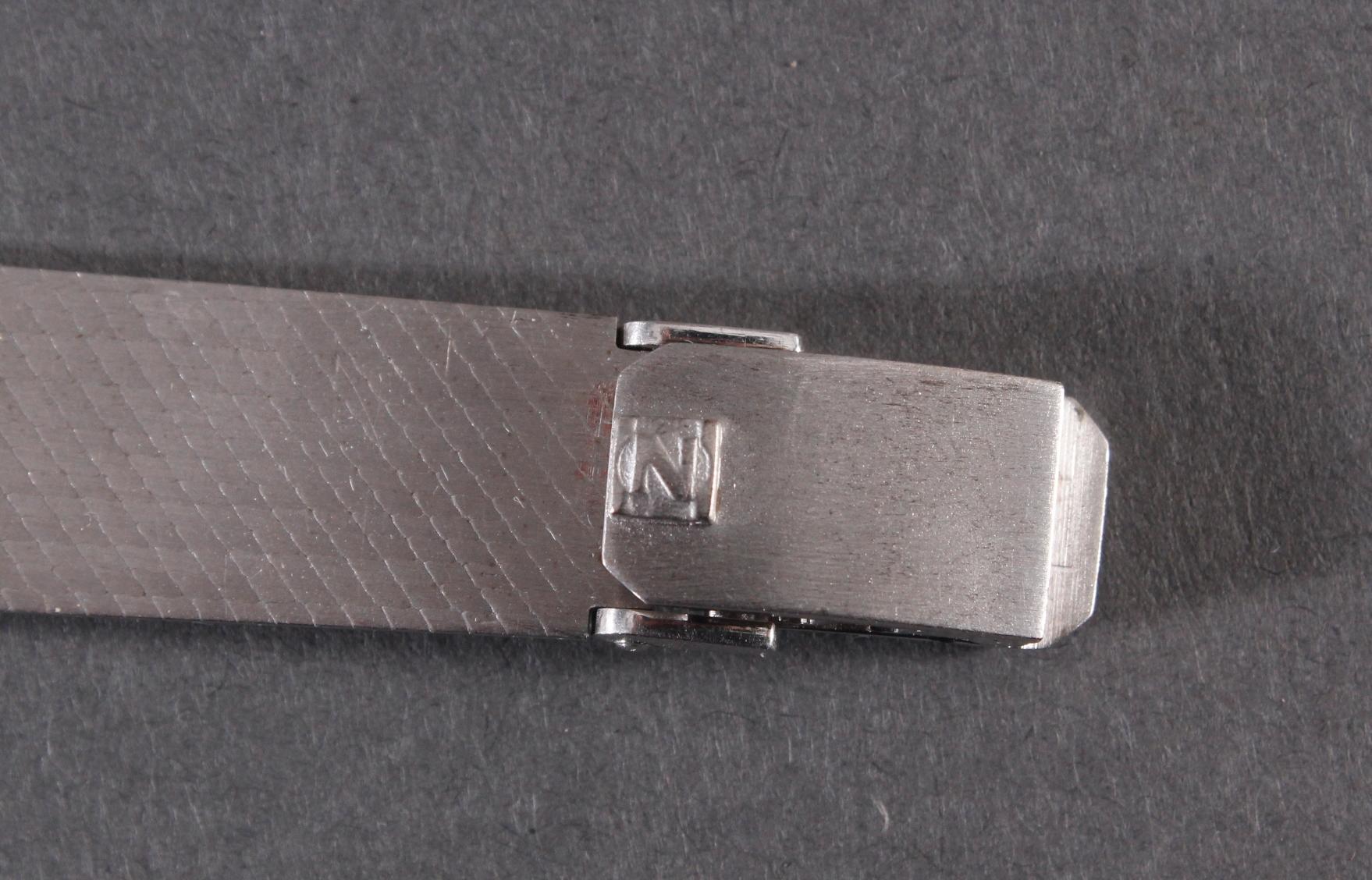 Zentra Damenarmbanduhr aus 14 kt Weißgold-6