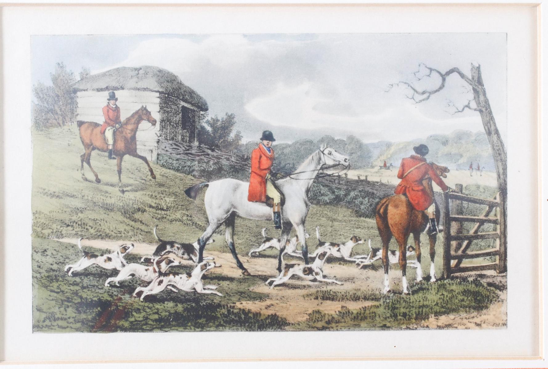 Konvolut Druckgrafiken zum Thema Reiter und Pferde-3