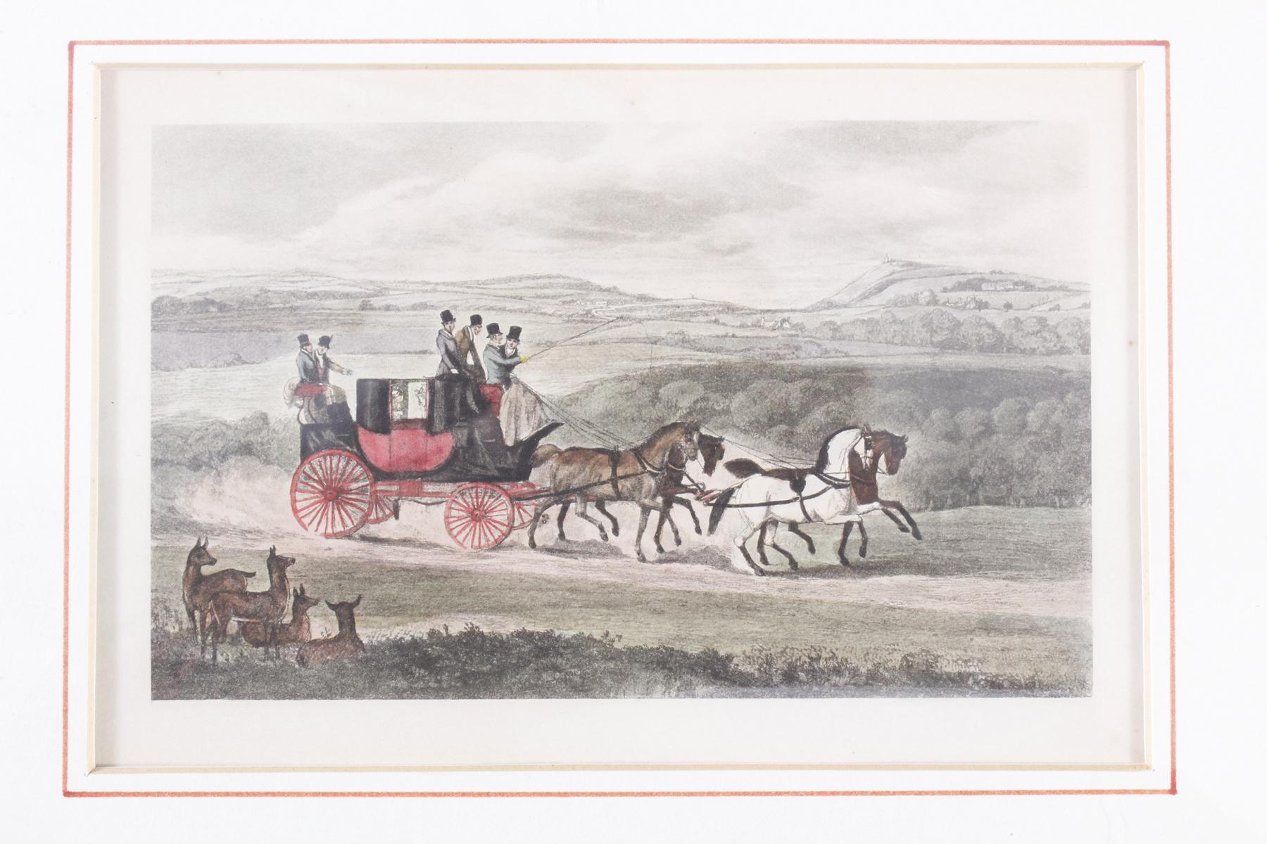 Konvolut Druckgrafiken zum Thema Reiter und Pferde-5