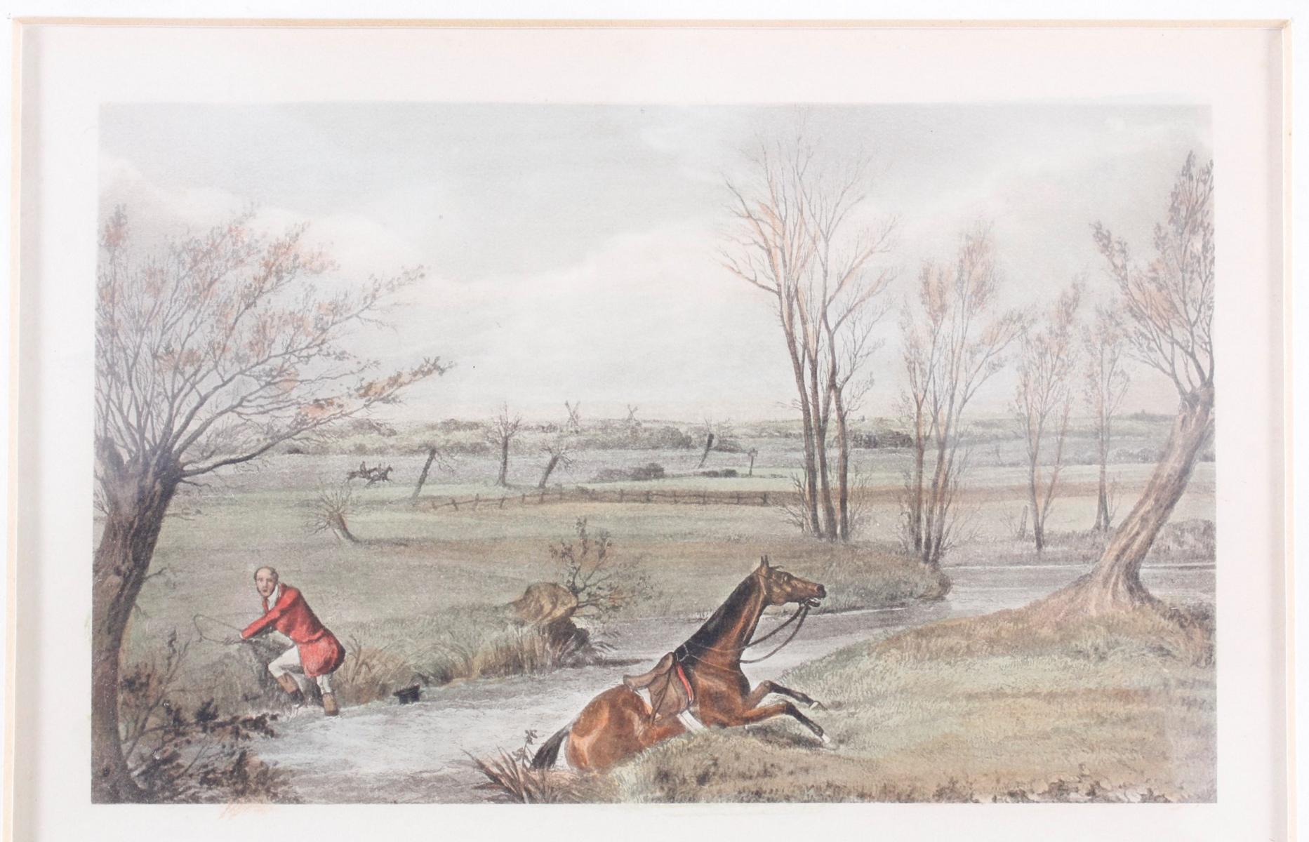 Konvolut Druckgrafiken zum Thema Reiter und Pferde-6