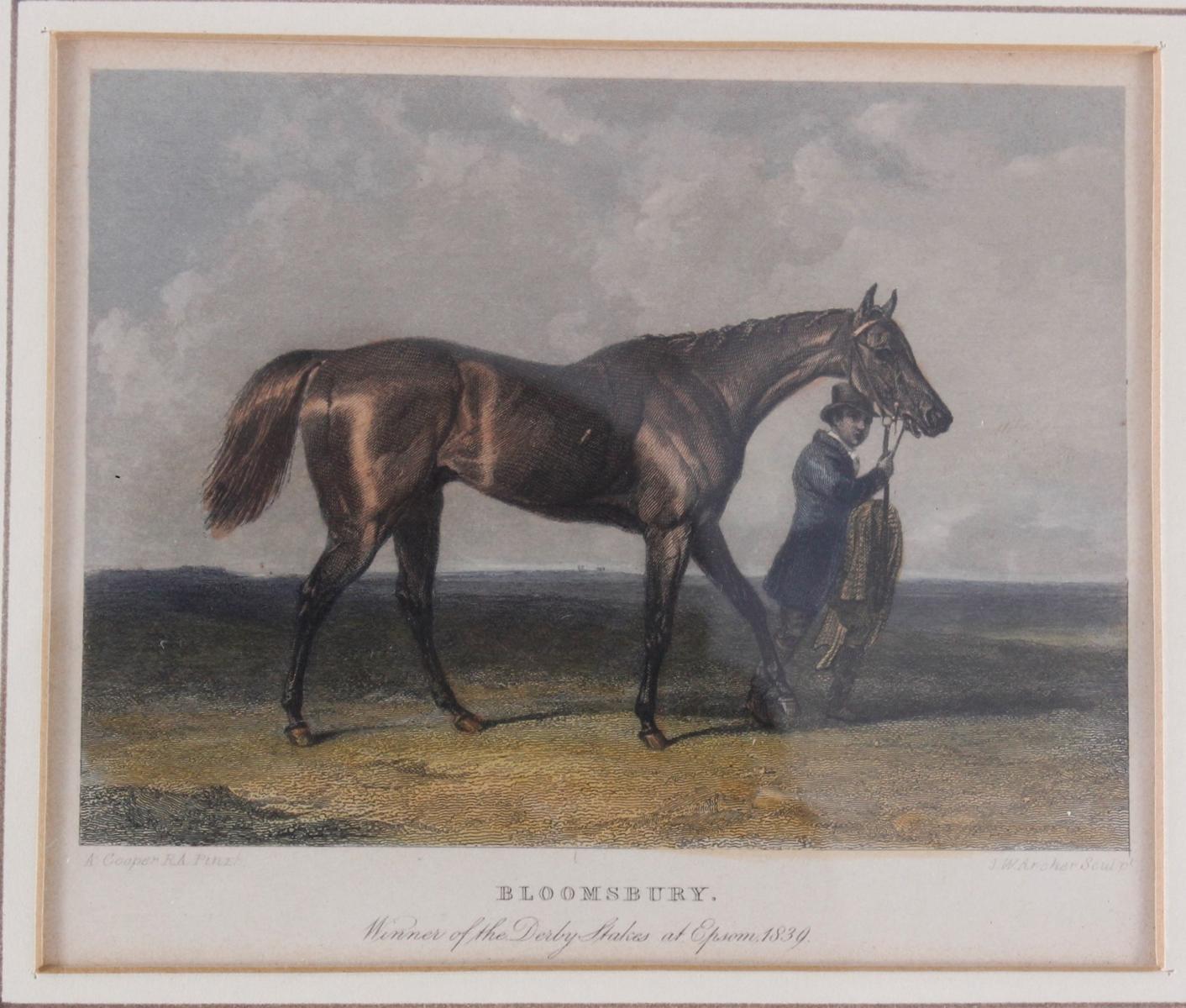 Konvolut Druckgrafiken zum Thema Pferde-3