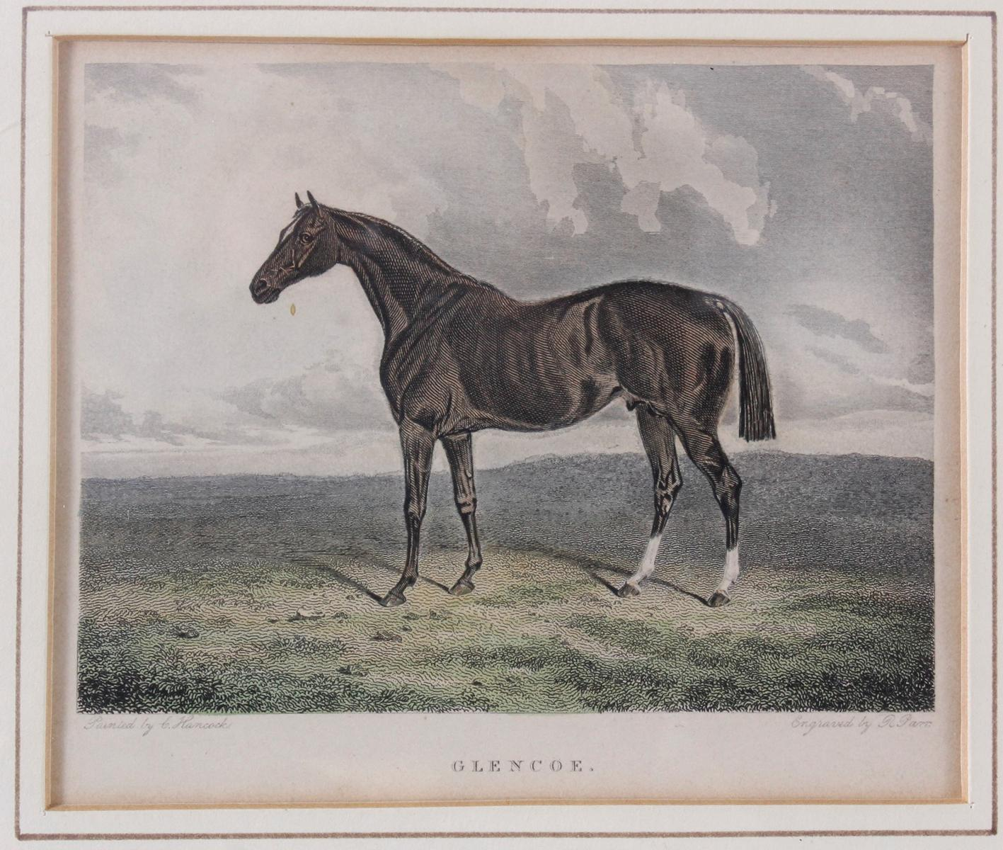 Konvolut Druckgrafiken zum Thema Pferde-5