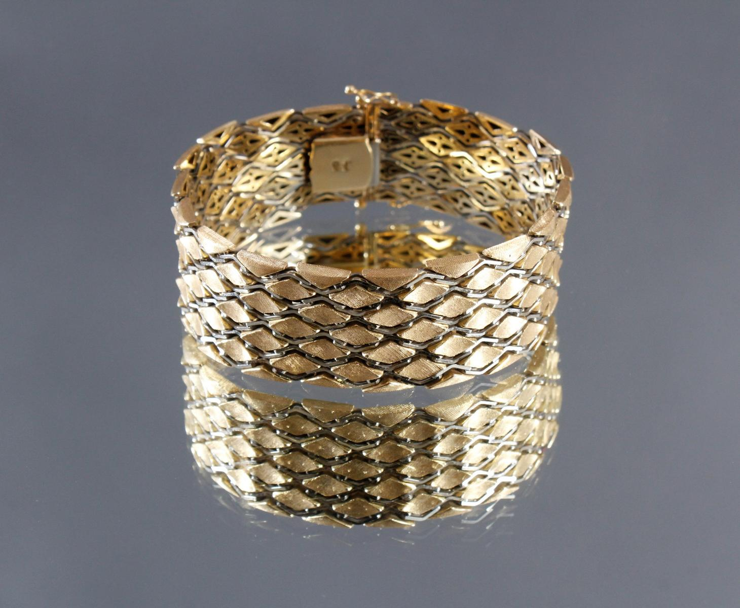 Damenarmband aus 18 kt Gelbgold