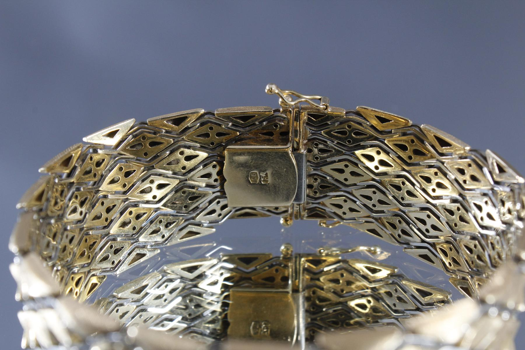 Damenarmband aus 18 kt Gelbgold-3