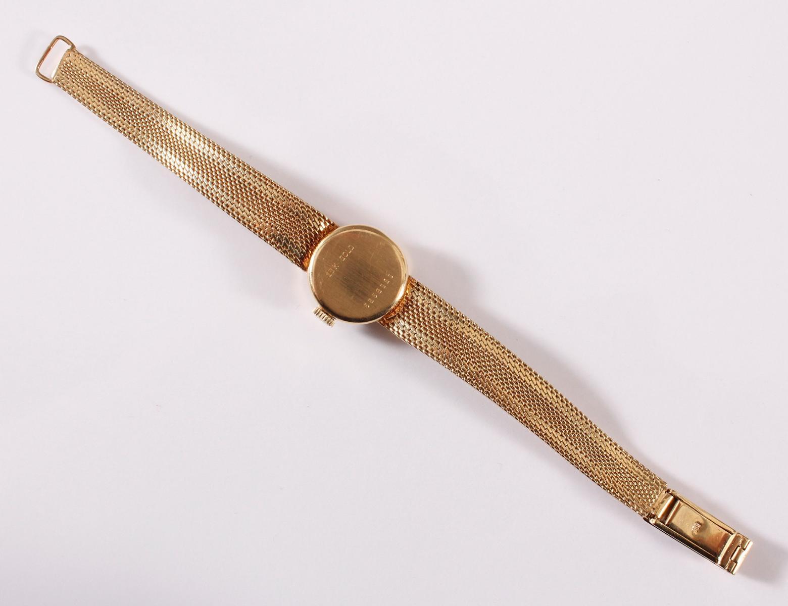 Recta Damenuhr aus 14 kt Gelbgold-4