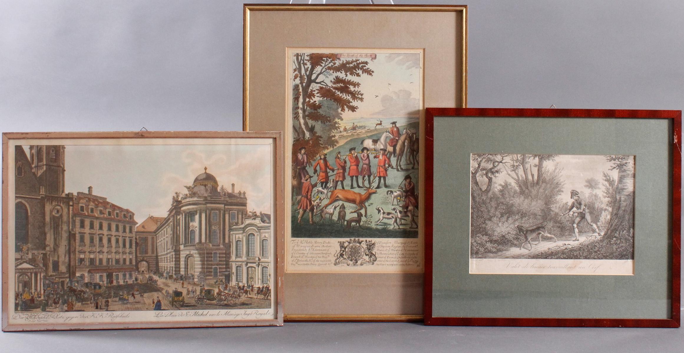 Kupferstich und Lithografie