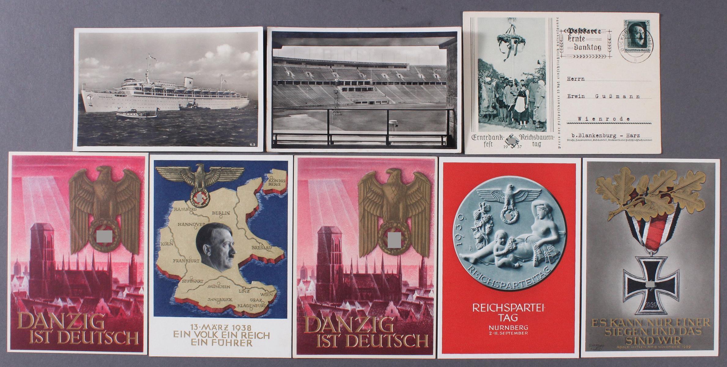 Postkarten, Propaganda / III. Reich