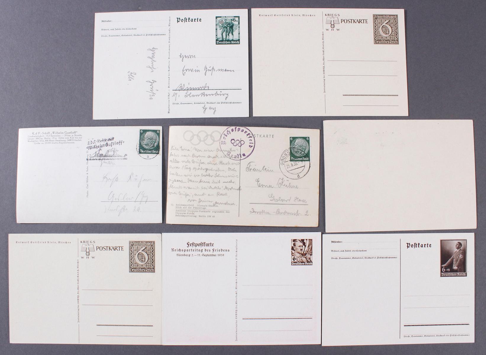 Postkarten, Propaganda / III. Reich-2