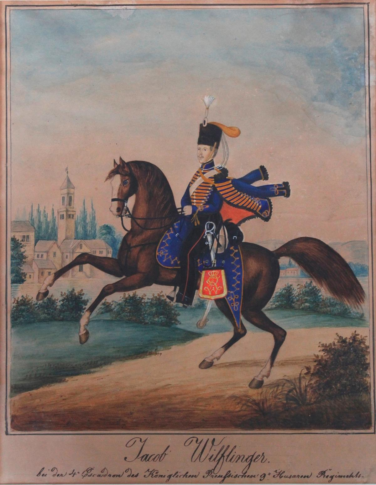 Preussische Reiterdarstellung. Jacob Wilflinger-2