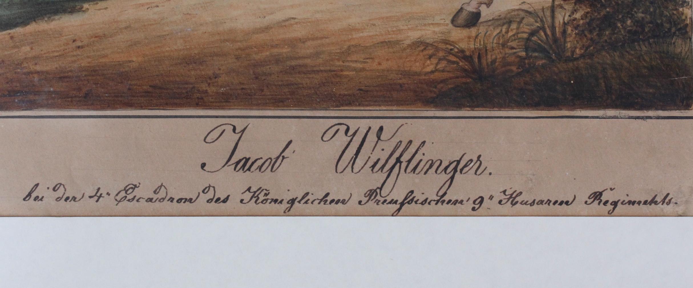 Preussische Reiterdarstellung. Jacob Wilflinger-3