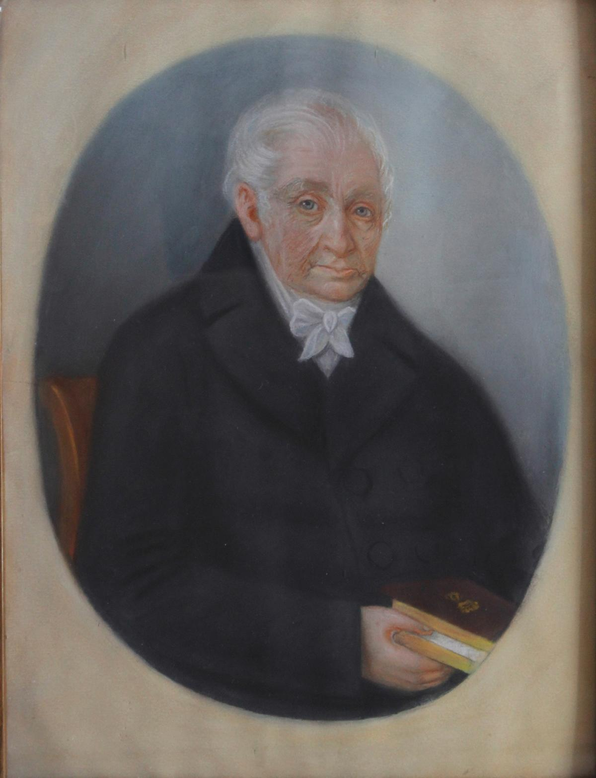 Porträt des 19. Jahrhunderts, Anonymer Maler-2