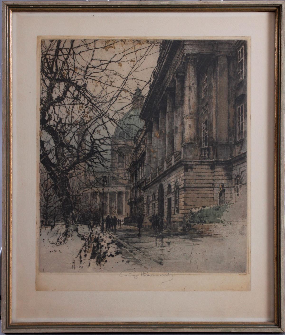 Lugi Kasimir (1881 – 1962). Farbradierungen