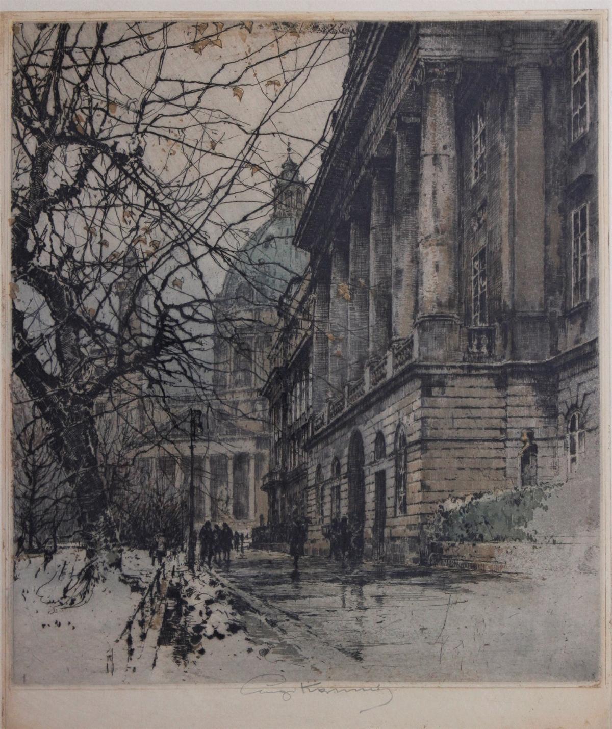 Lugi Kasimir (1881 – 1962). Farbradierungen-2