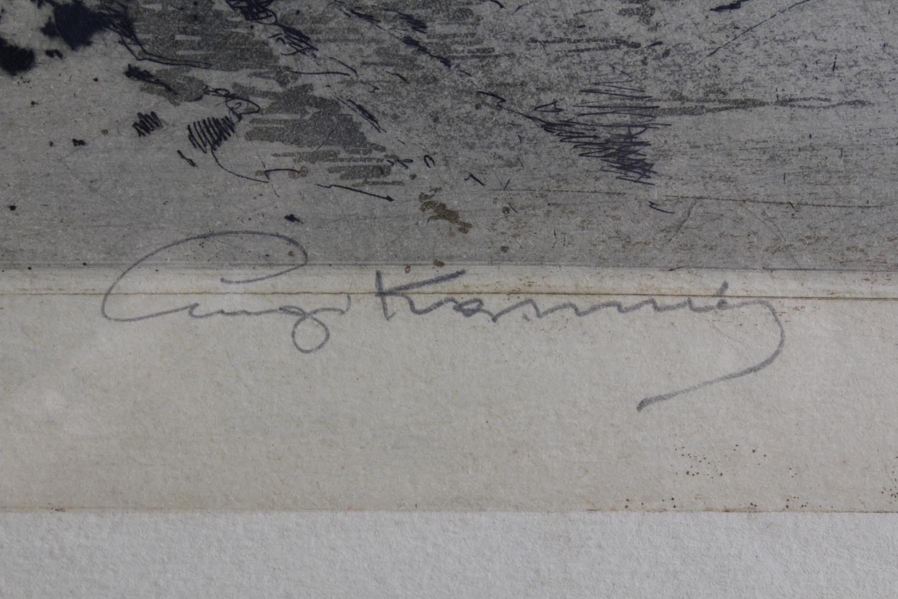 Lugi Kasimir (1881 – 1962). Farbradierungen-3