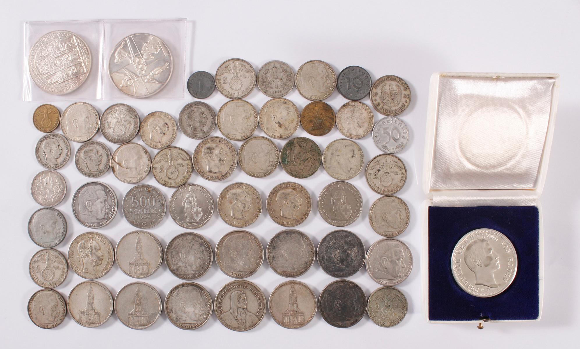 Kleine Sammlung Münzen