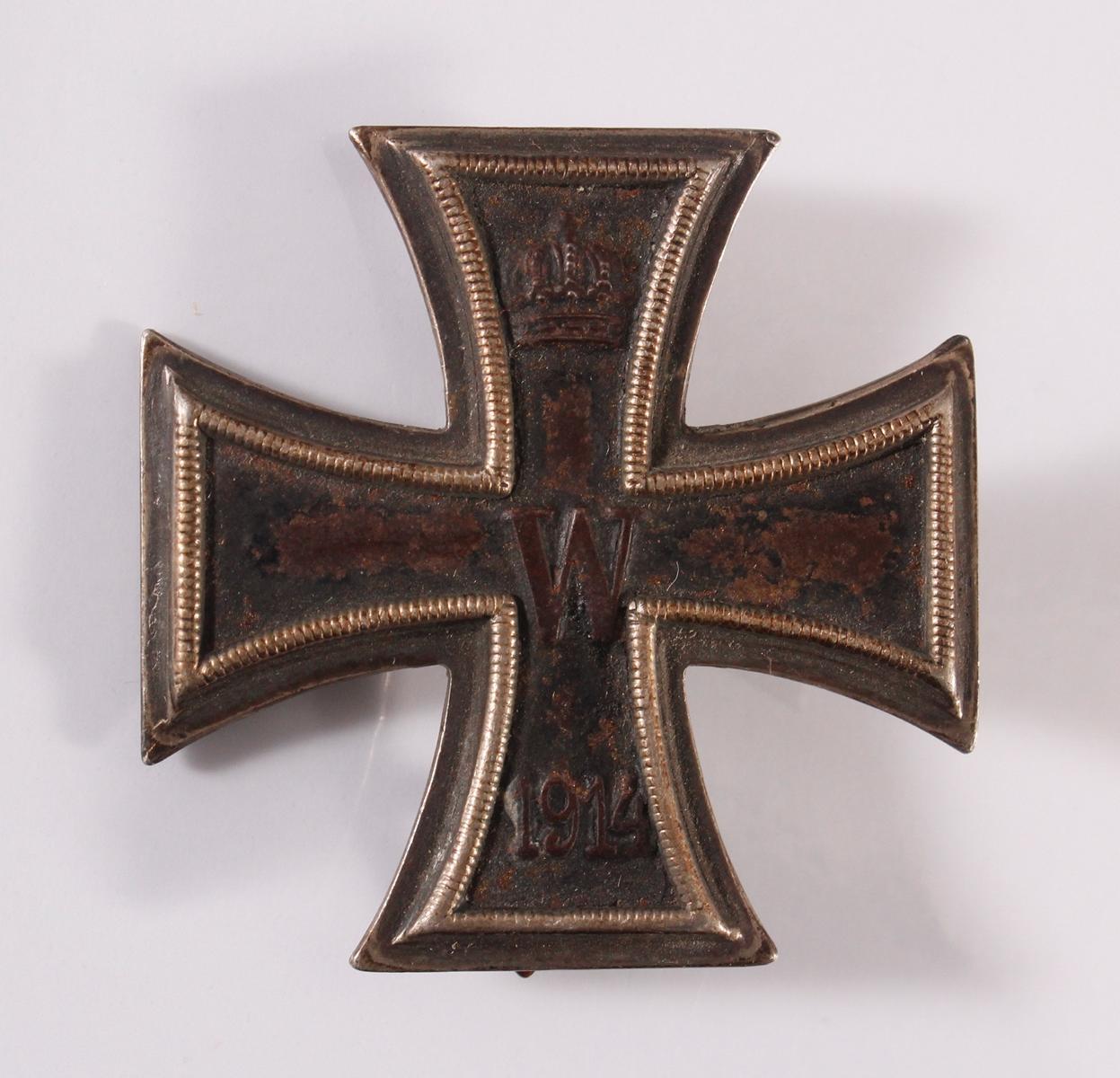 Eisernes Kreuz 1. Klasse 1914 an Nadel