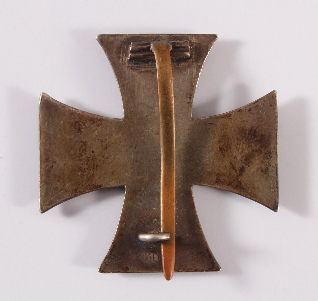 Eisernes Kreuz 1. Klasse 1914 an Nadel-2