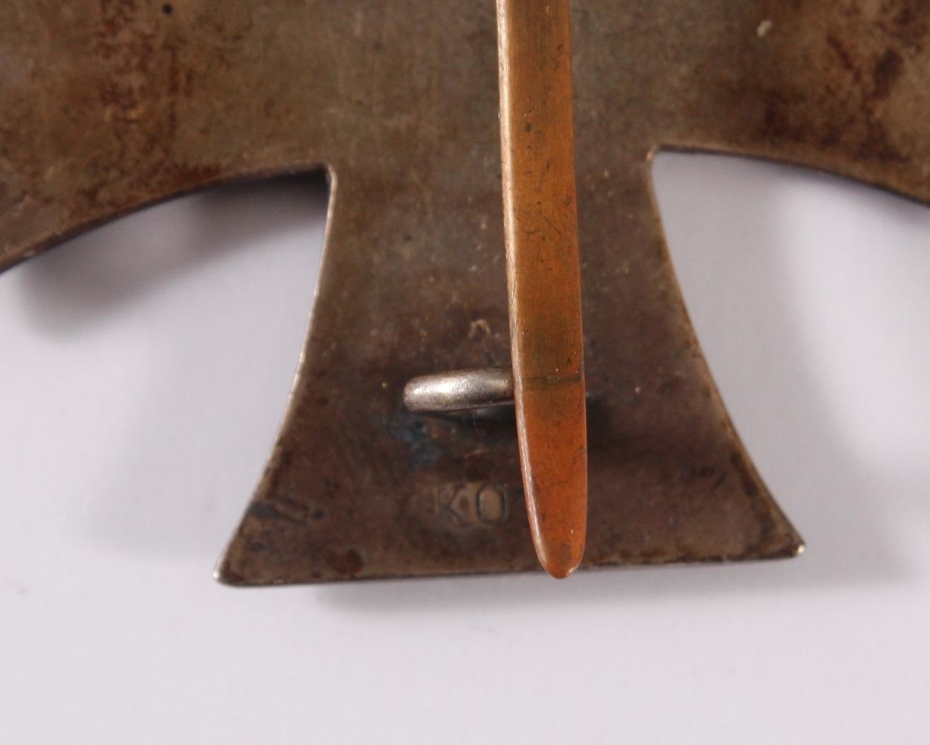Eisernes Kreuz 1. Klasse 1914 an Nadel-3