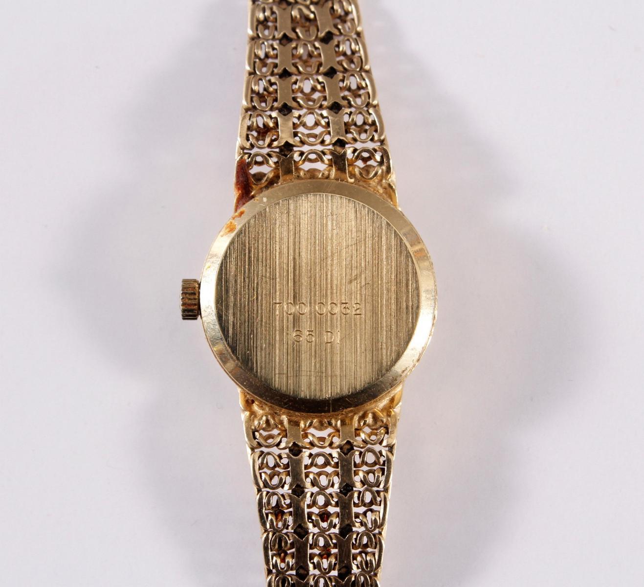 Damenarmbanduhr der Marke Sertina, 14 kt Gelbgold-5