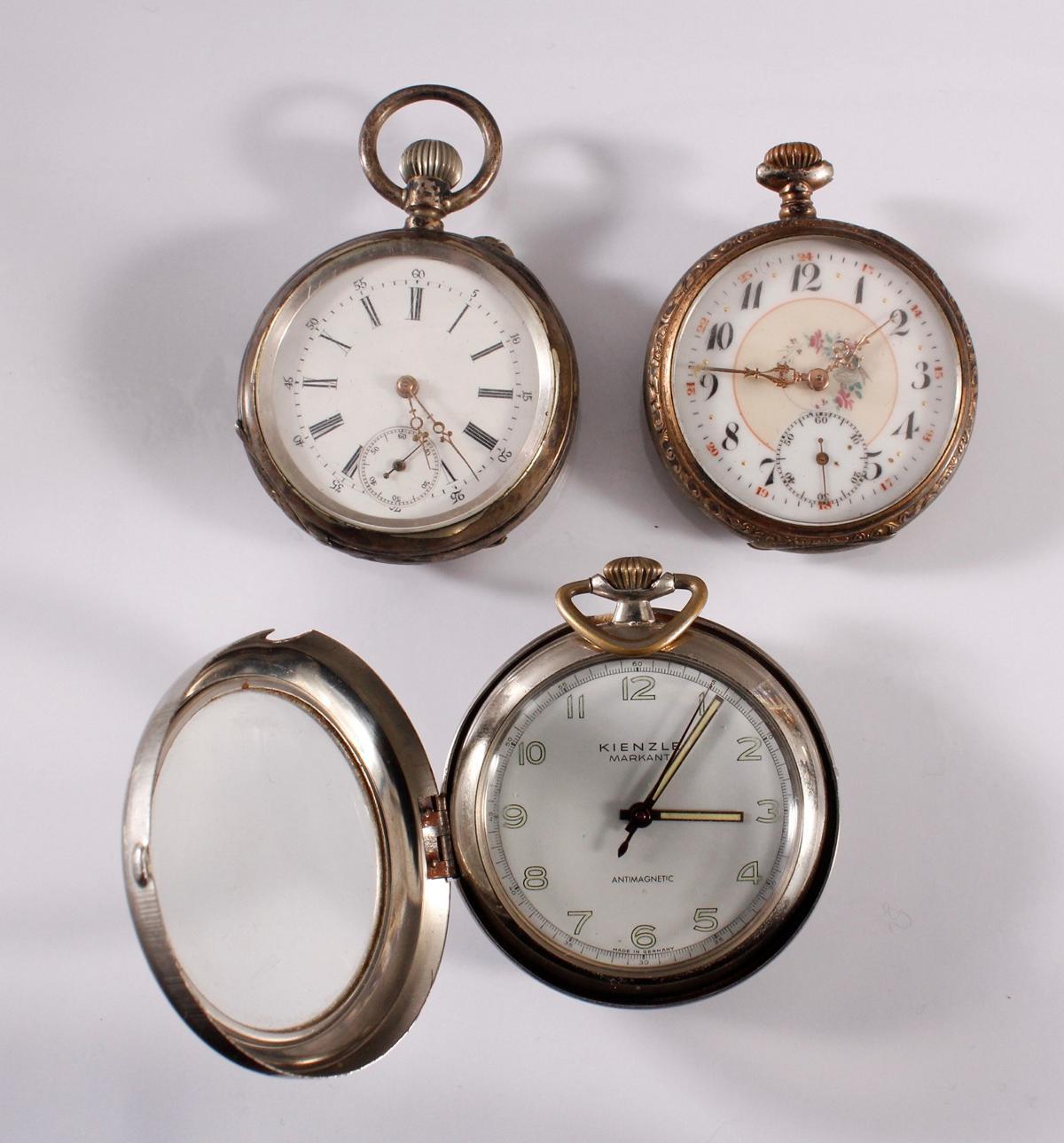 3 Taschenuhren