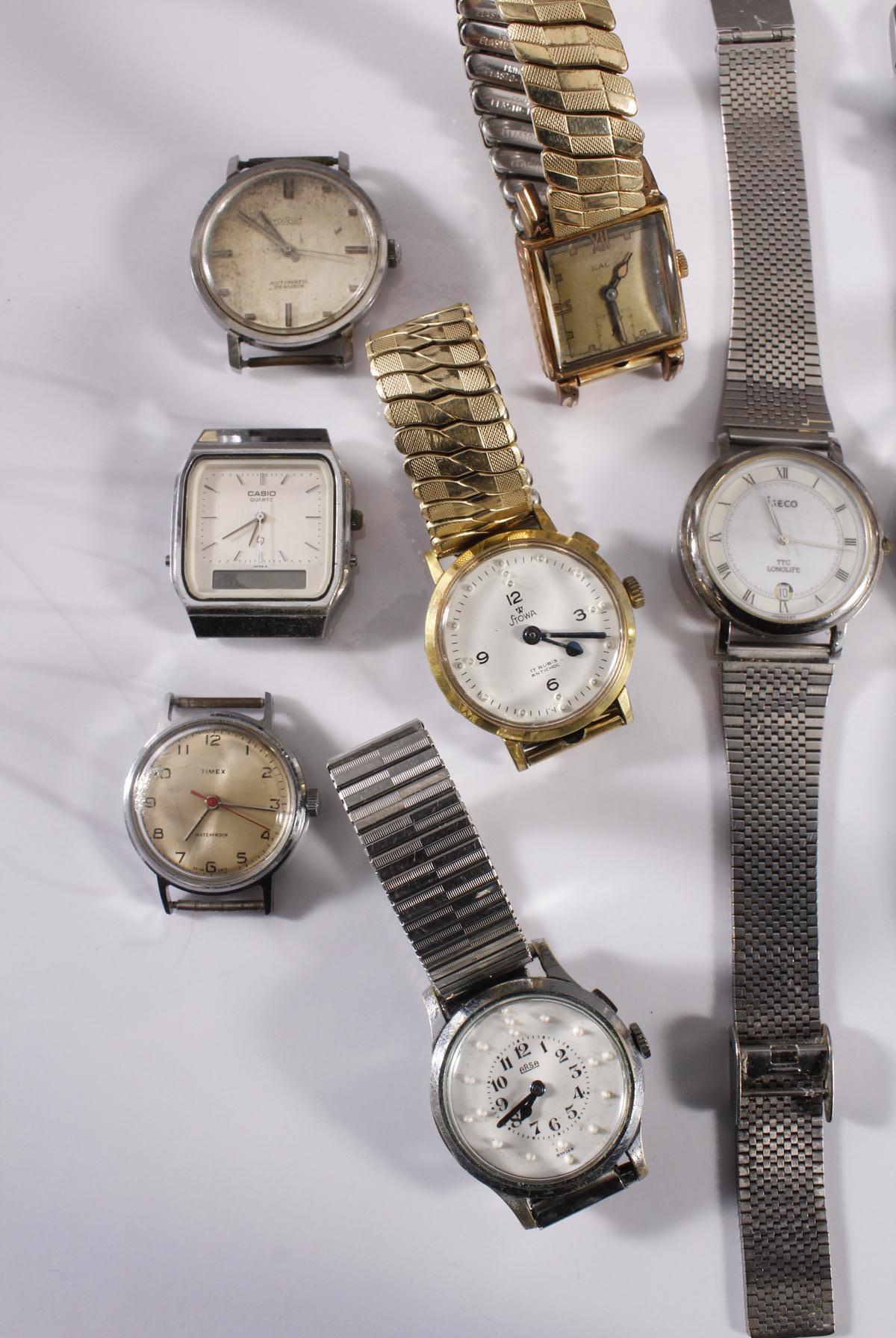 Konvolut Armbanduhren, 9 Stück-2