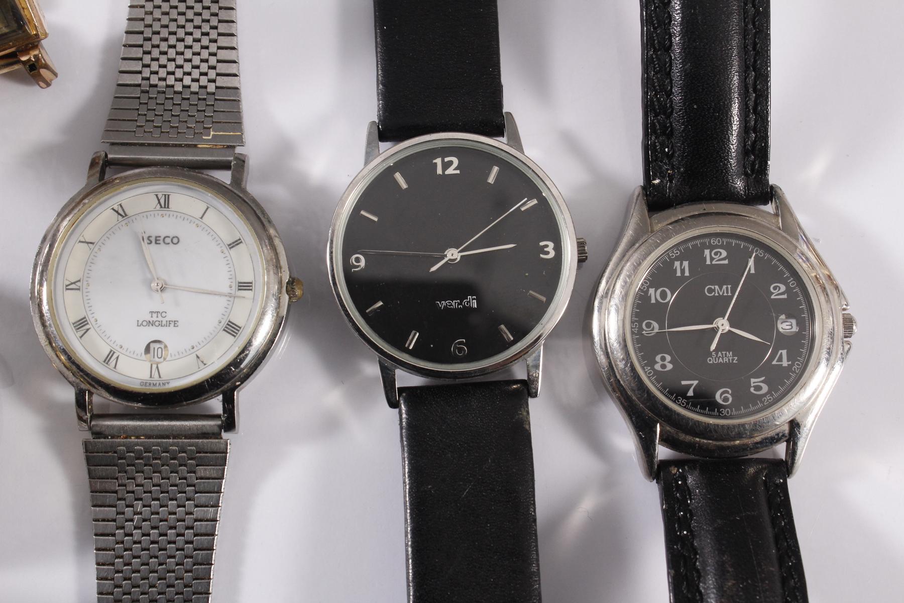 Konvolut Armbanduhren, 9 Stück-3