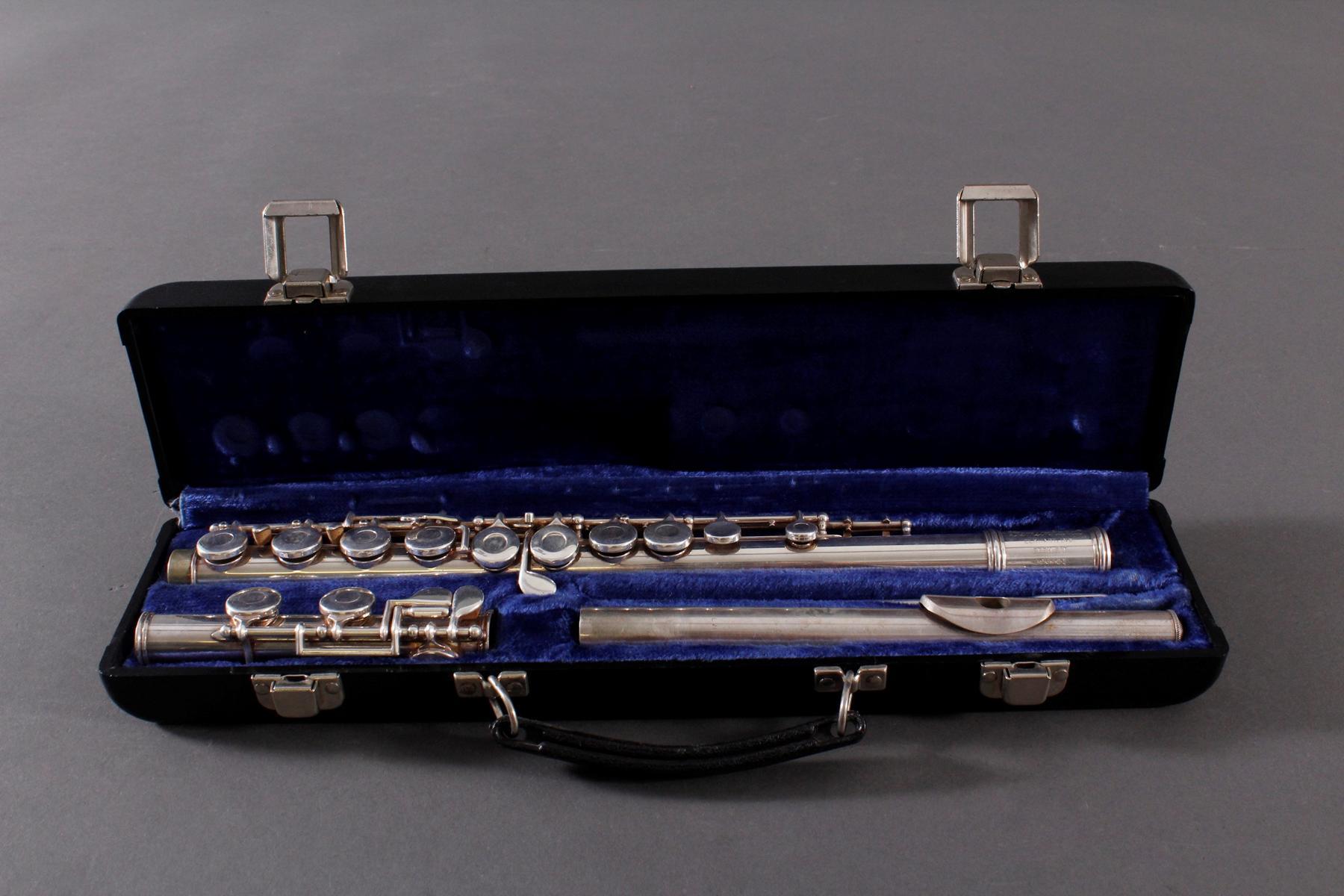 Querflöte, gemarkt GemeinhardtElkhardt 2 ESH S/E E96521, USA 20. Jh.