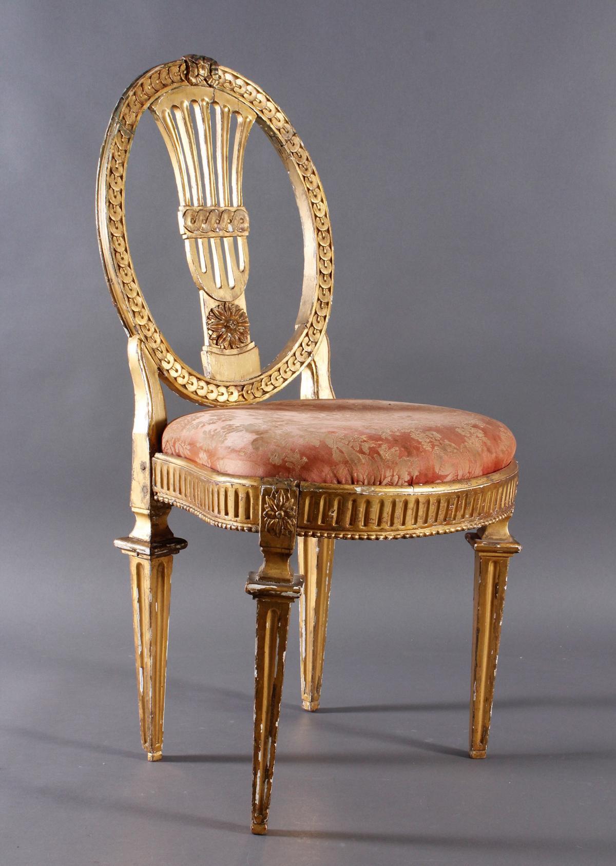 Stuhl, Louis Seize um 1760-2