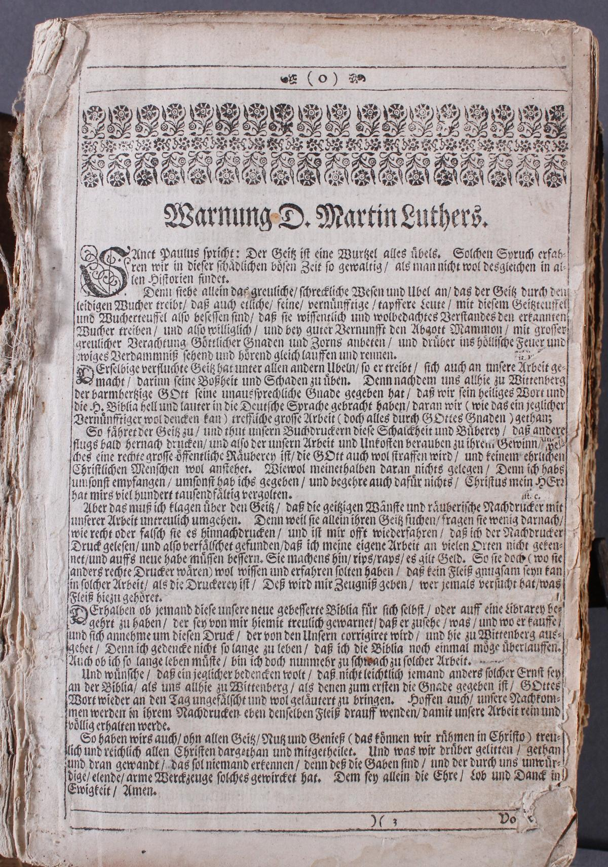 Lutherbibel, 18. /19. Jahrhundert-3