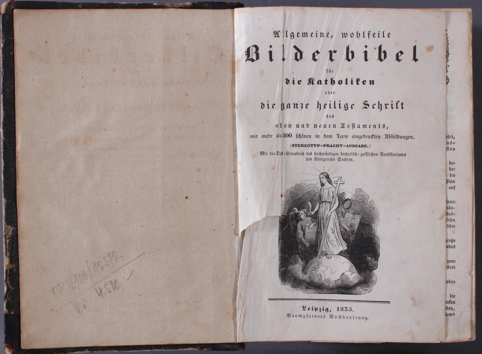 Bilderbibel für die Katholiken von 1835-2