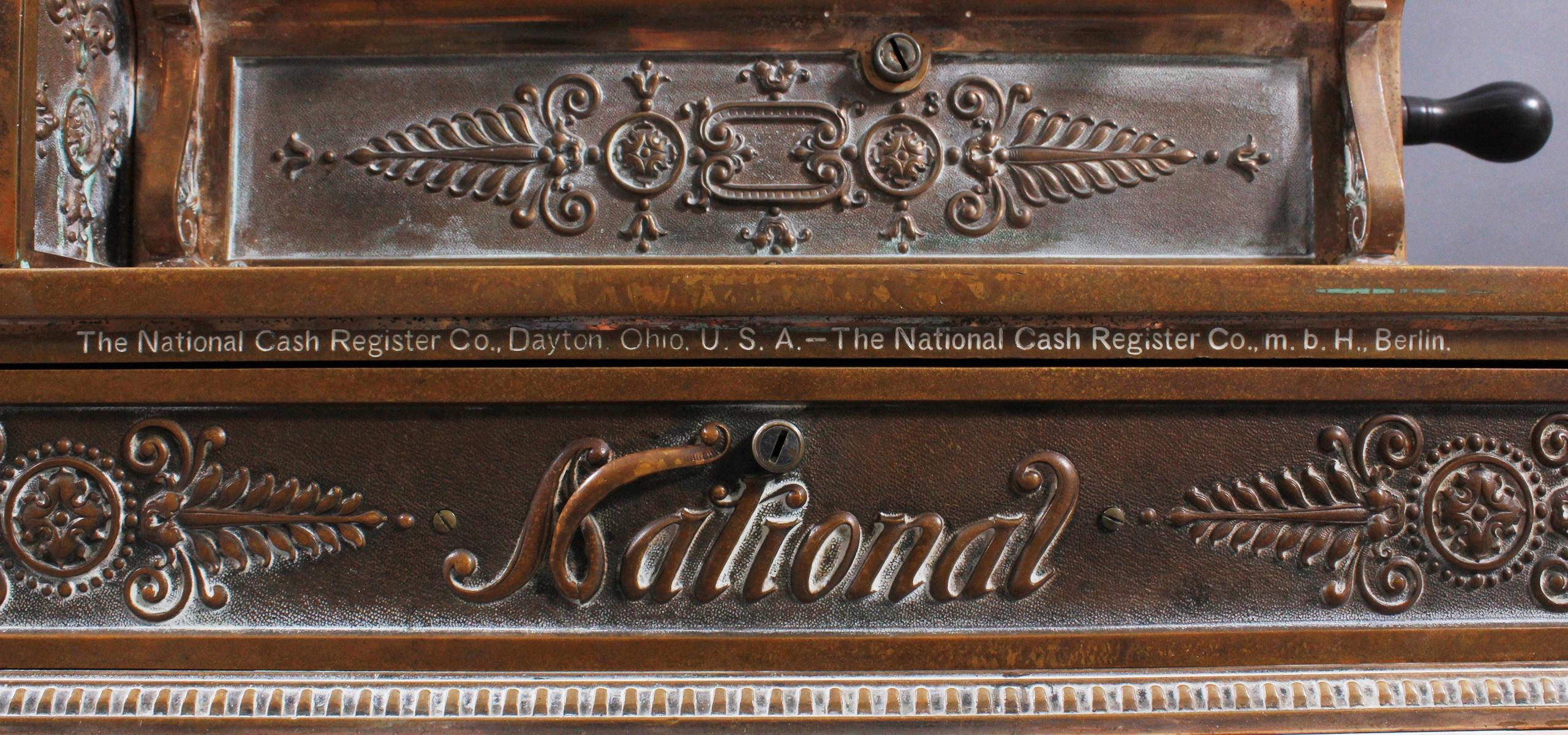National Registrierkasse um 1900-8