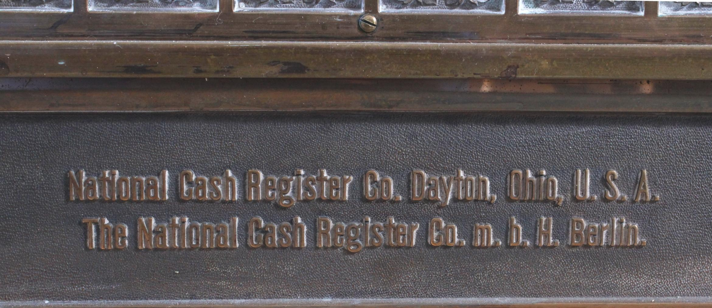 National Registrierkasse um 1900-9