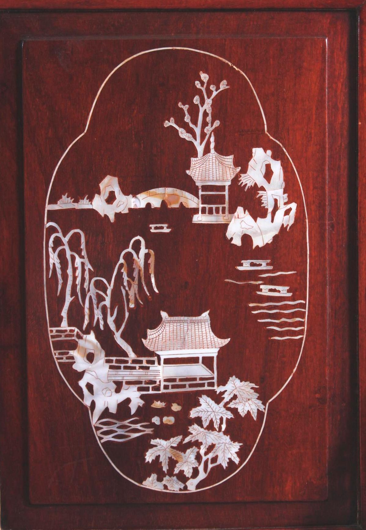Tischpanel, China um 1920-2