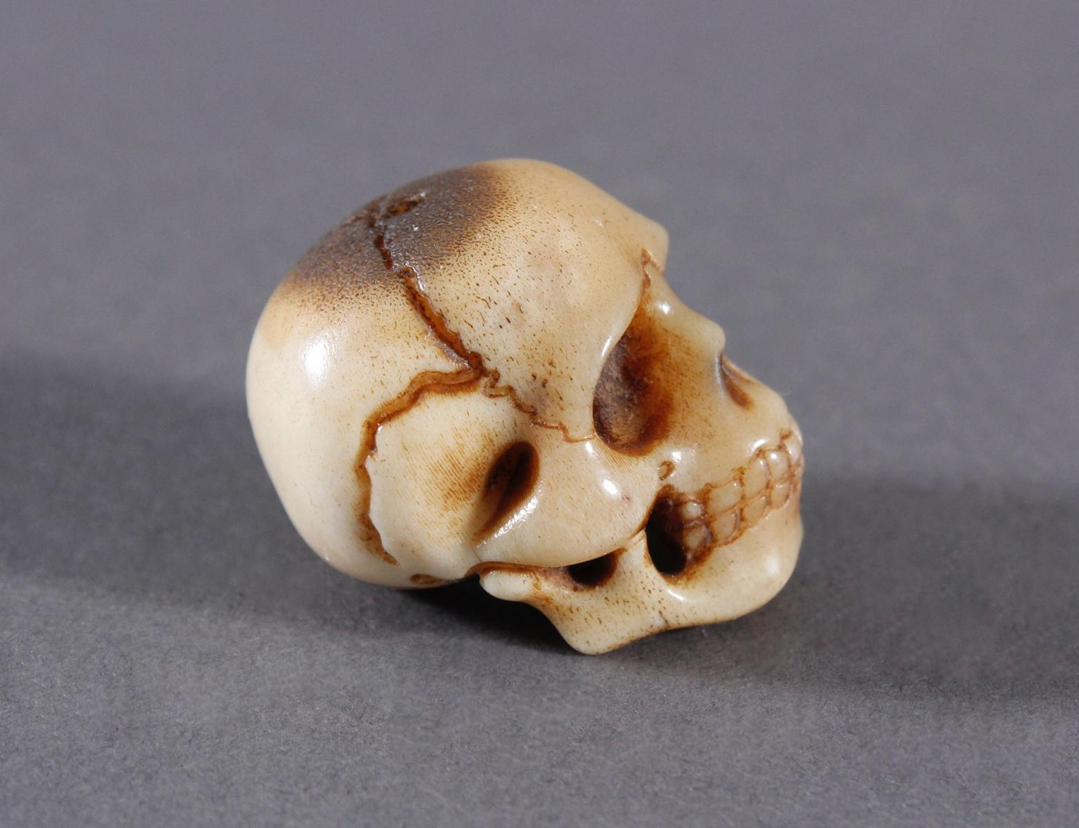 Memento Mori, Miniatur Totenschädel-4