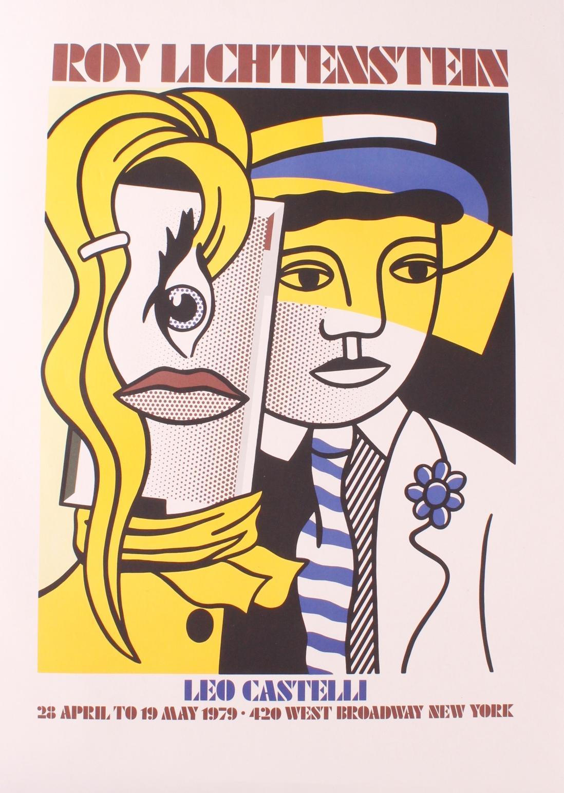 Roy Lichtenstein (1923-1997), Ausstellungsplakat