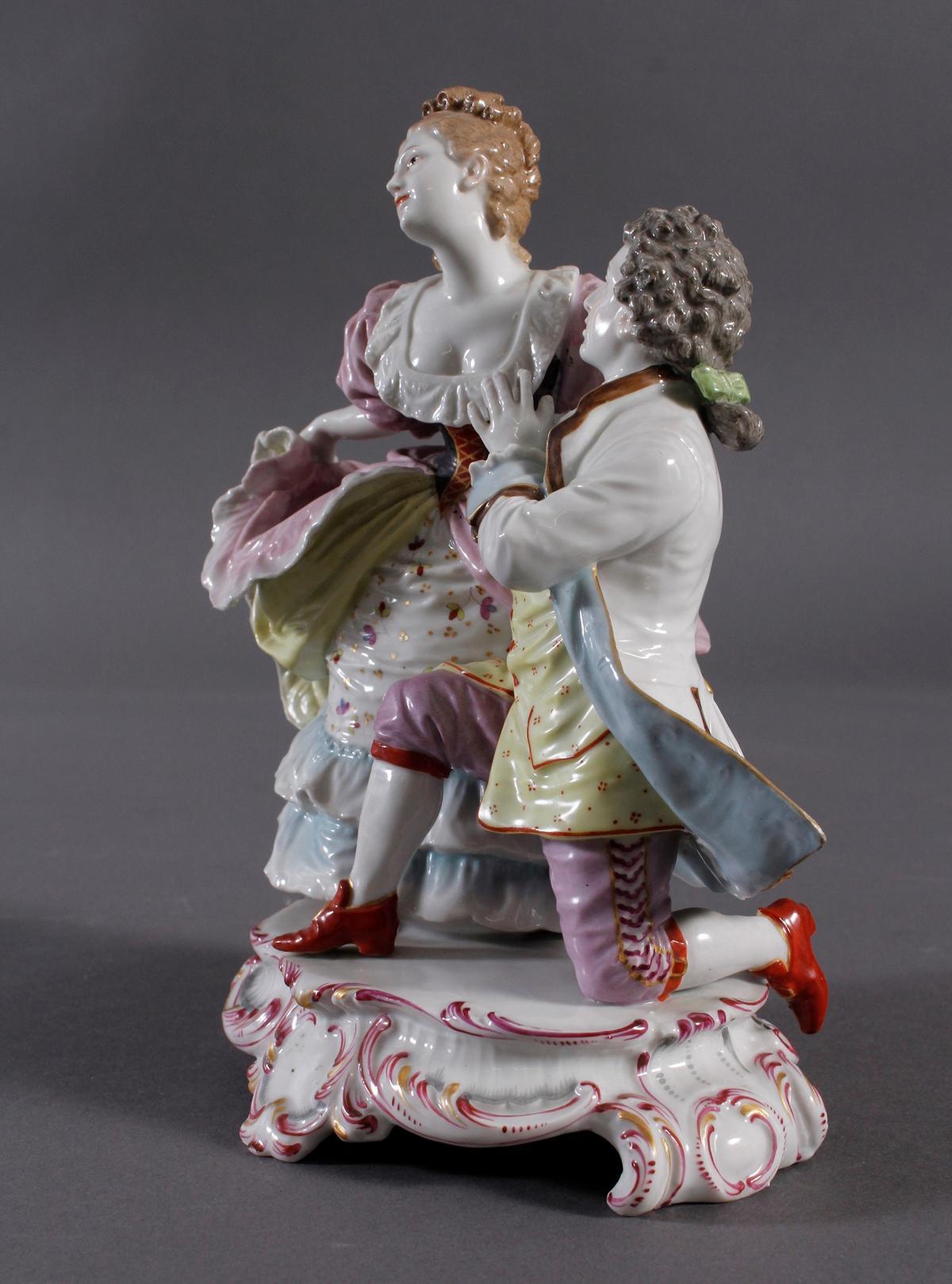 Ludwigsburg Porzellan, Rokoko-Figurengruppe-2