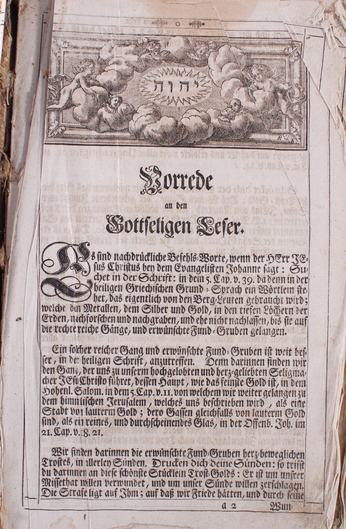 Luther Bibel, 18. Jahrhundert-3