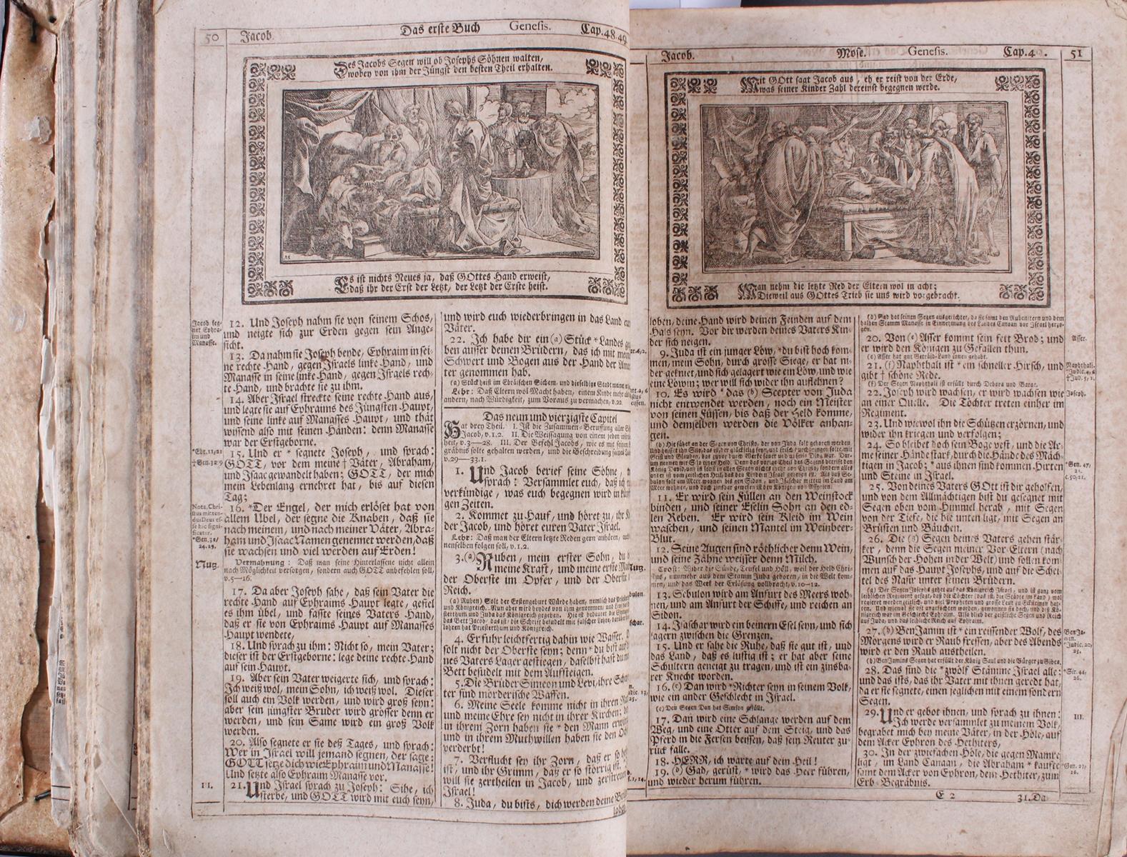 Wert Bibel 18 Jahrhundert