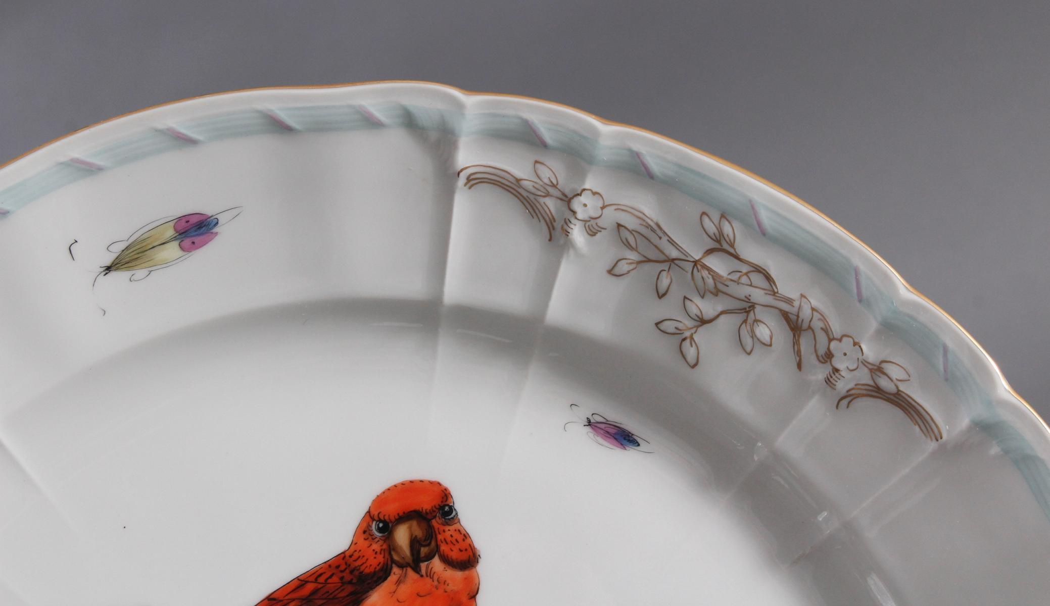 Königliche Porzellan-Manufaktur Berlin, großer Wandteller um 1900-2