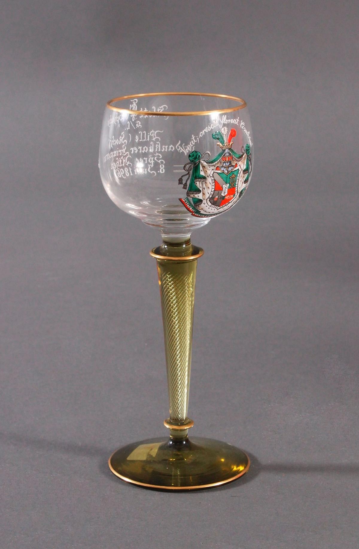 Andenkenglas, Verbindungsglas um 1900-2