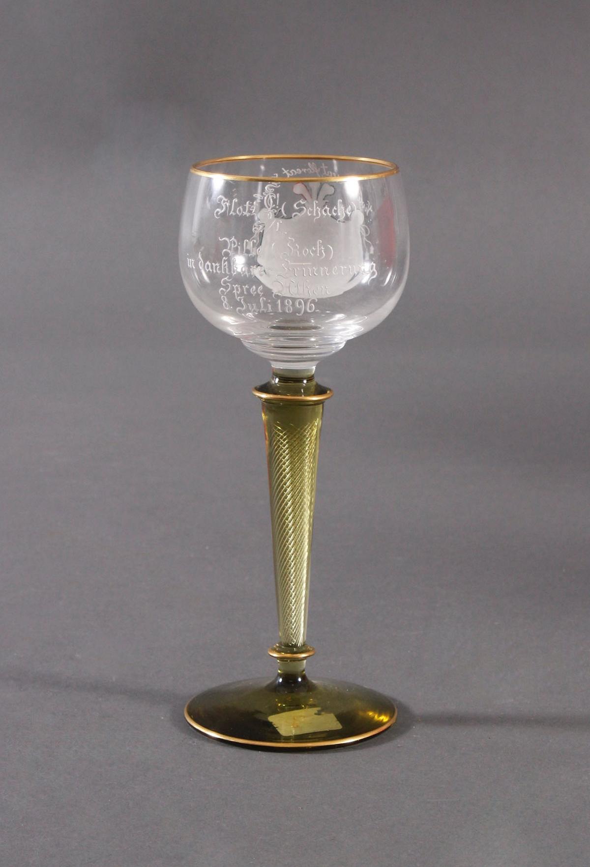 Andenkenglas, Verbindungsglas um 1900-4