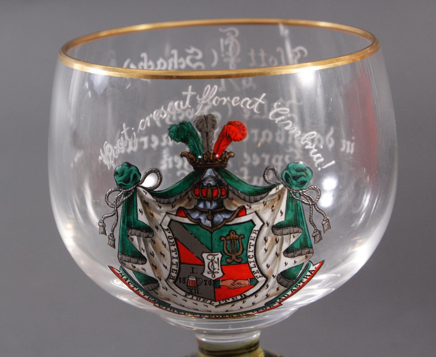 Andenkenglas, Verbindungsglas um 1900-6