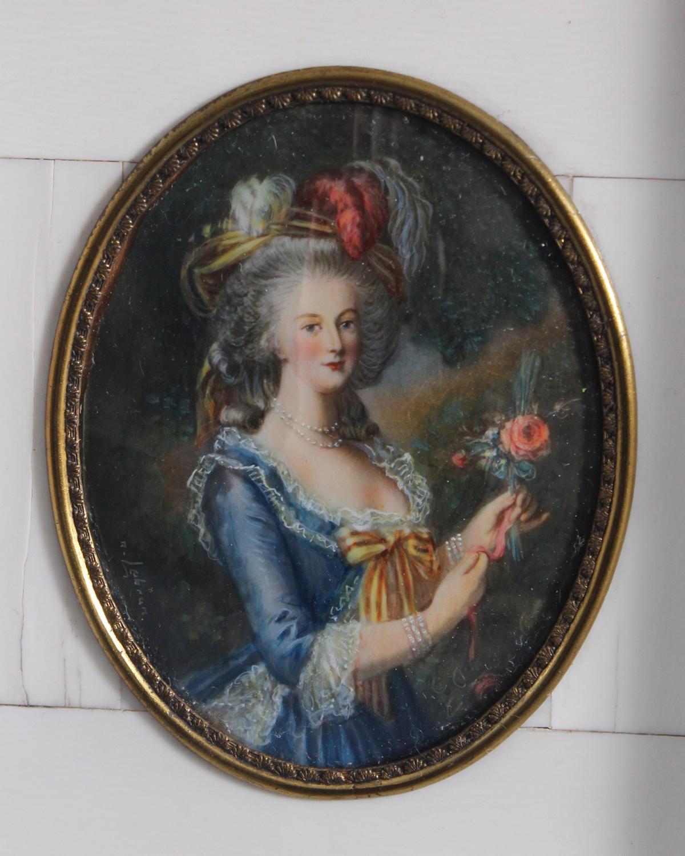 Elisabeth VIGÉE-LEBRUN (1755-1842), Marie Antoinette-2