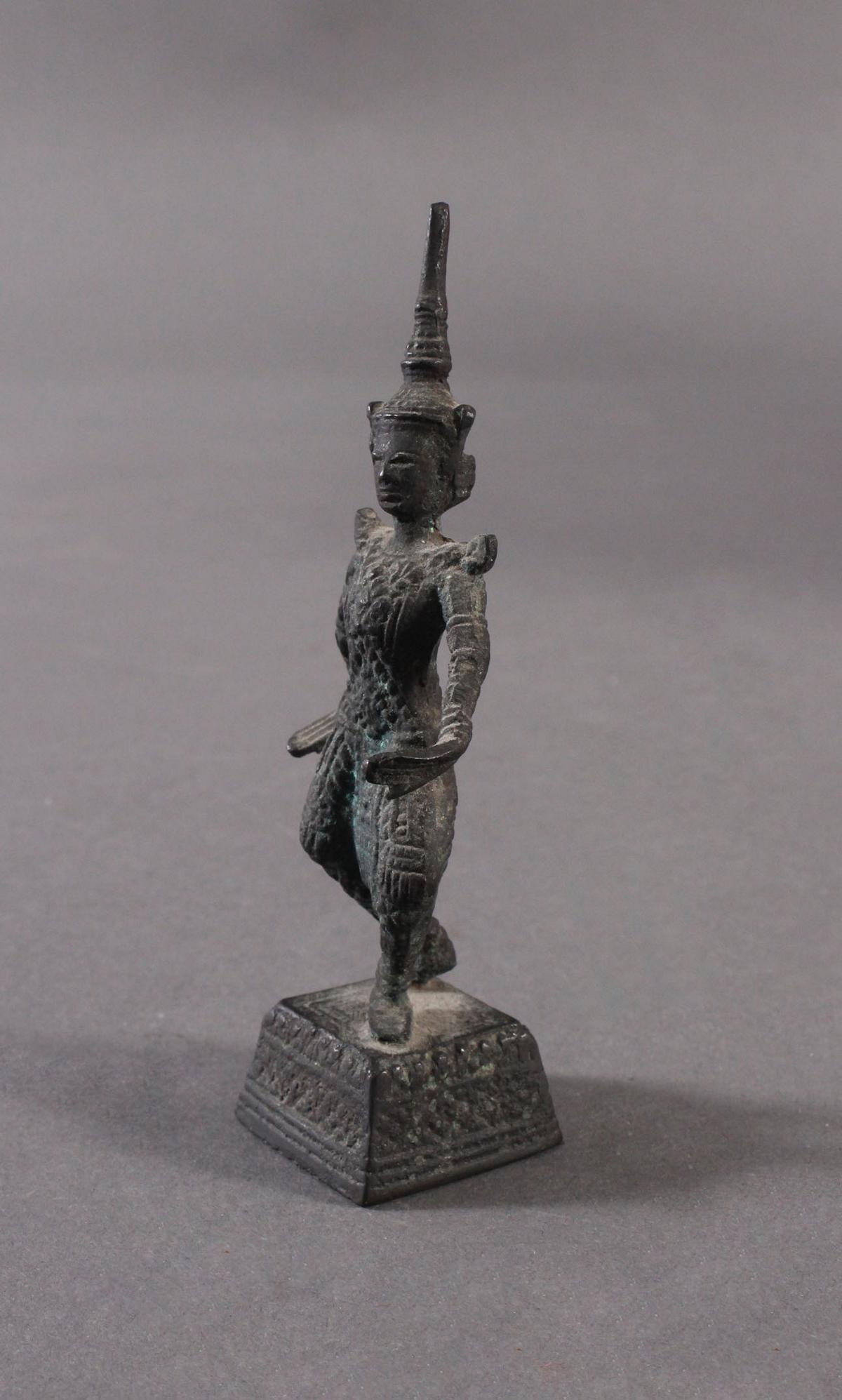 Antike Bronzeskulptur, Thailand-2