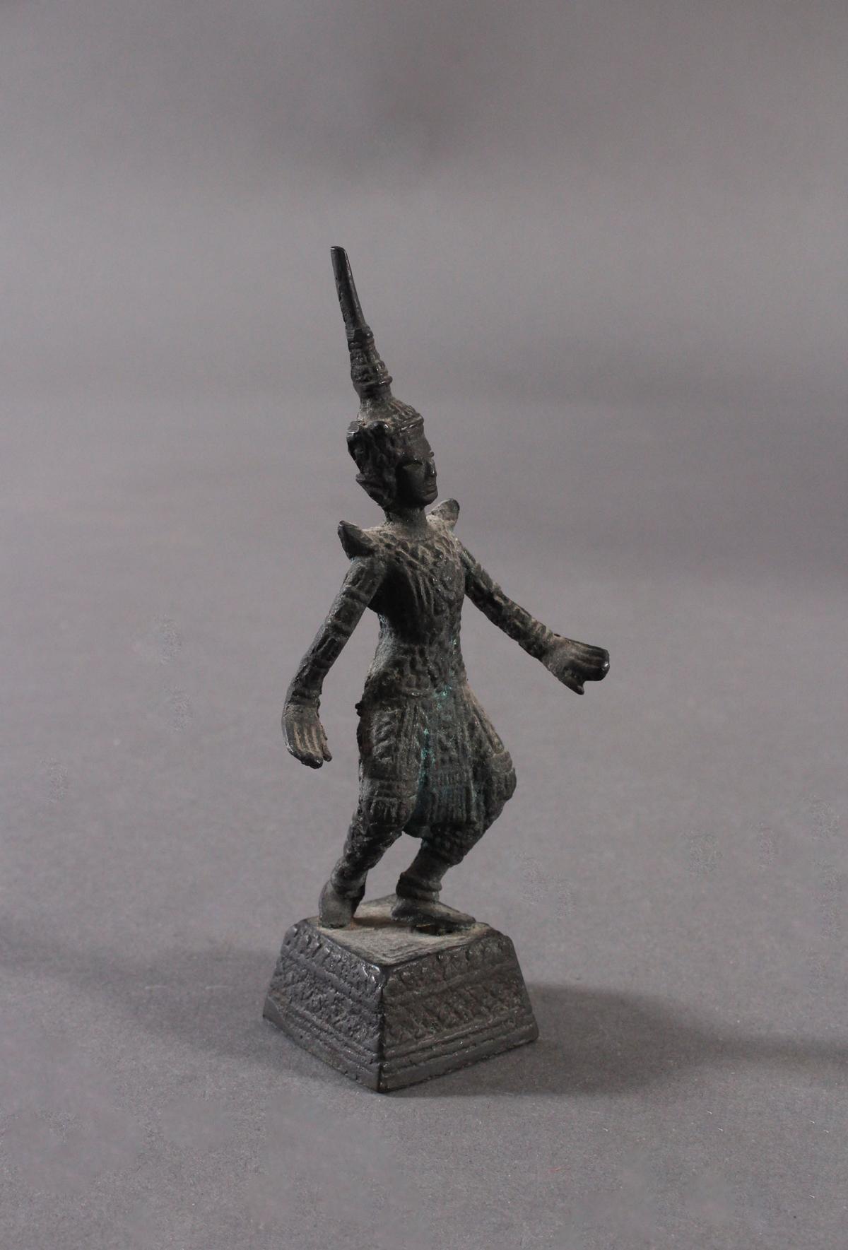Antike Bronzeskulptur, Thailand-3